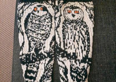 Haukka ja pöllösukat